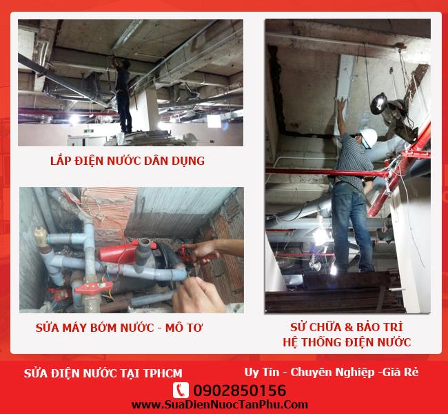 thợ sửa điện nước tại nhà tại tphcm