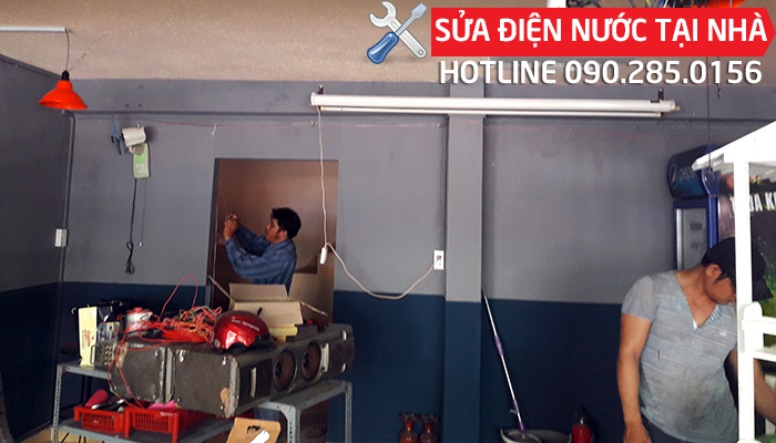 Thợ sửa điện nước tại nhà Quận Tân Phú Hotline 0902850156