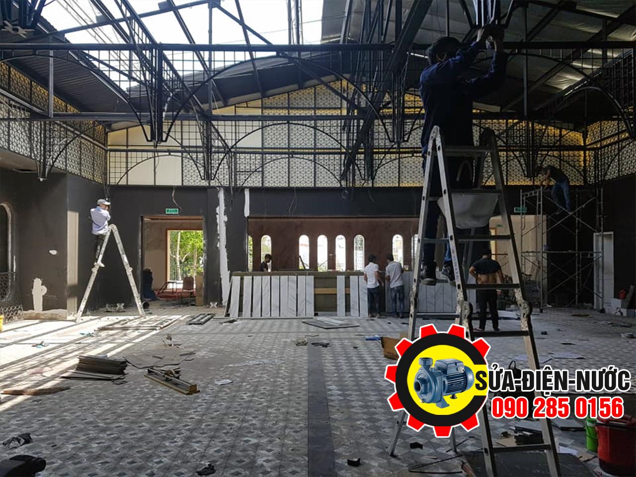 Sửa điện tại nhà Quận 6 - Thợ sửa chữa điện nước Quận 6