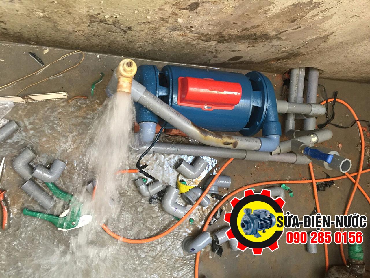 Thợ Sửa máy bơm nước tại nhà Quận Gò Vấp phục vụ 24/7