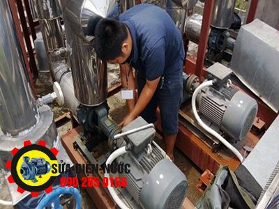 Sửa máy bơm nước quận Tân Bình 24/24